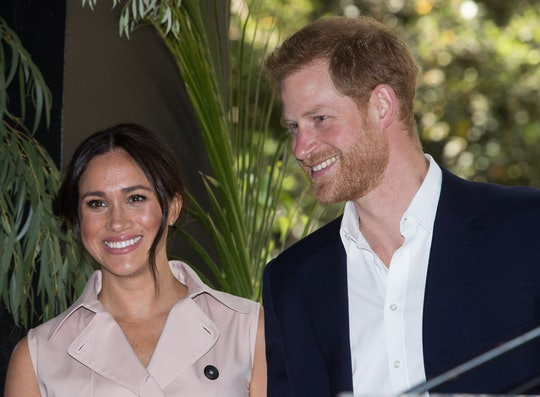 JOHANNESBURG, SOUTH AFRICA - OCTOBER 02: (UK OUT FOR 28 DAYS) Prince Harry, Duke of Sussex and Megha...