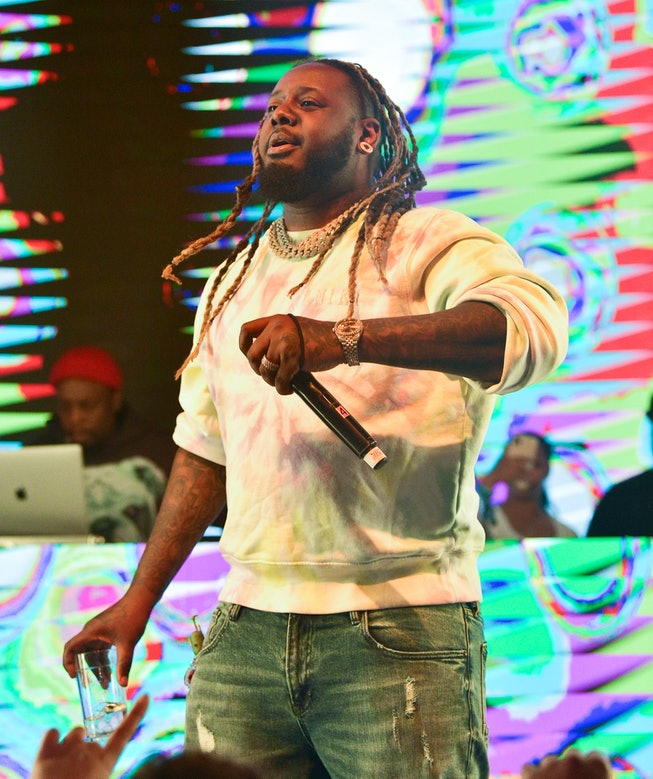 ATLANTA, GA - MAY 12: T-Pain Performs at Ladies Love R&B Live with Mario at Domaine on May 12, 2021 in Atlanta, Georgia.(Photo by Prince Williams/Wireimage)