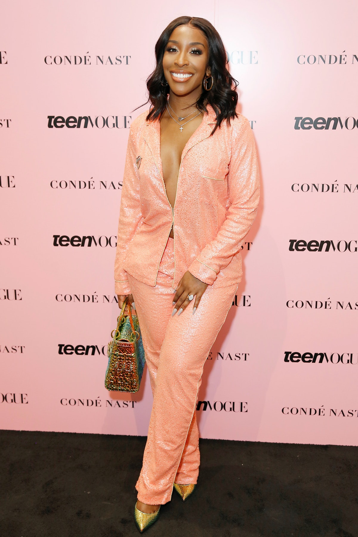 LOS ANGELES, CALIFORNIA - NOVEMBER 02: Jackie Aina attends the Teen Vogue Summit 2019 at Goya Studios on November 02, 2019 in Los Angeles, California. (Photo by Rachel Murray/Getty Images for Teen Vogue)