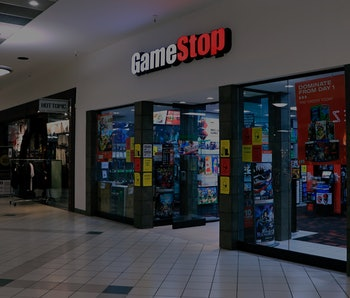 GameStop video game store in indoor mall, An indoor mall in northern Idaho. (Photo by: Don and Melin...
