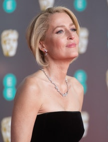 LONDON, ENGLAND - FEBRUARY 02: Gillian Anderson attends the EE British Academy Film Awards 2020 at Royal Albert Hall on February 02, 2020 in London, England. (Photo by Samir Hussein/WireImage)