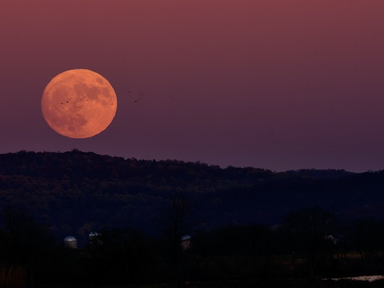 A supermoon happens when the full moon coincides with the moon's closest approach to Earth in its orbit.