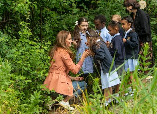 Kate Middleton raises bees.