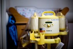 PORTLAND, ME - MAY 4: A breast pump at Maine Medical Center seen Wednesday, May 4, 2016. (Photo by G...