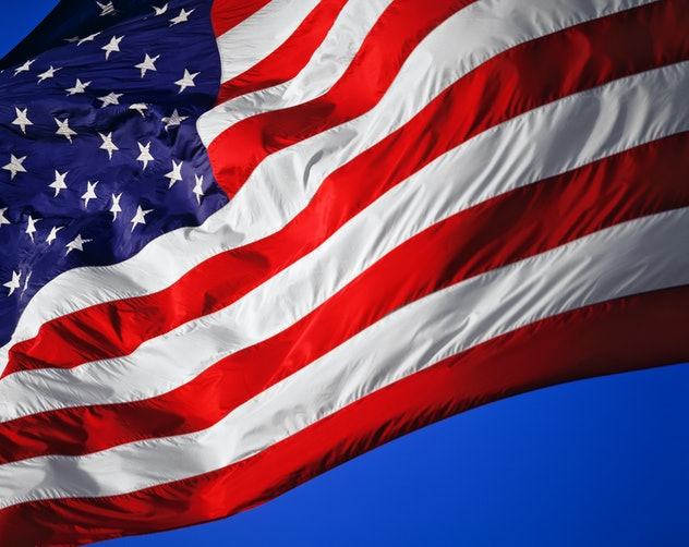 Share the 4th of July fact with your kids that the current American flag is the 27th version.
