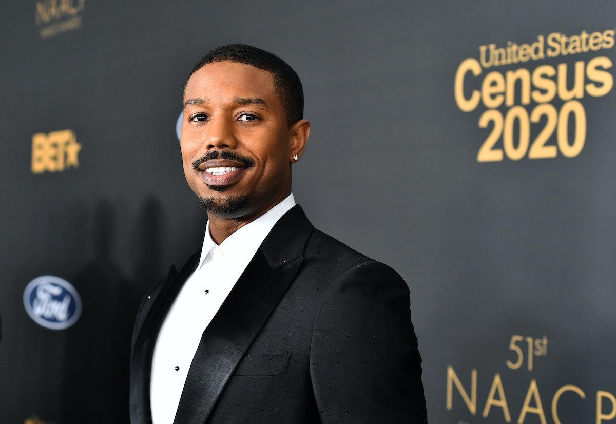 PASADENA, CALIFORNIA - FEBRUARY 22: Michael B. Jordan attends the 51st NAACP Image Awards, Presented...