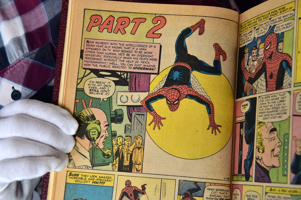A custom bound one-of-a-kind hardcover book that includes the first 10 issues of The Amazing Spider-...