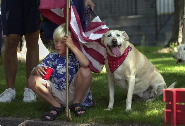 GENERAL INFORMATION: The Broadway Park Fourth of July Kiddie Parade has gone around the block in thi...