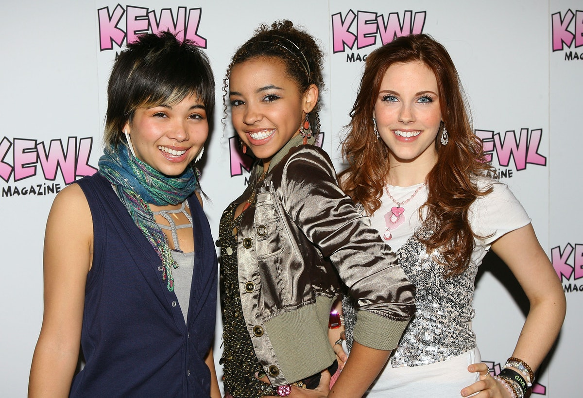 """BEVERLY HILLS, CA - JANUARY 25:  Performers of the band """"The Stunners"""" - Hayley Kiyoko,Tinashe and Kelsey Sanders attend the Boo Boo Stewart birthday celebration held at The Gibson Showroom on January 25, 2008 in Beverly Hills, California.  (Photo by Michael Tran/FilmMagic)"""