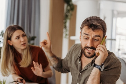 Not sure when to leave a lying spouse? If they lie about being over an ex, experts say this is a war...