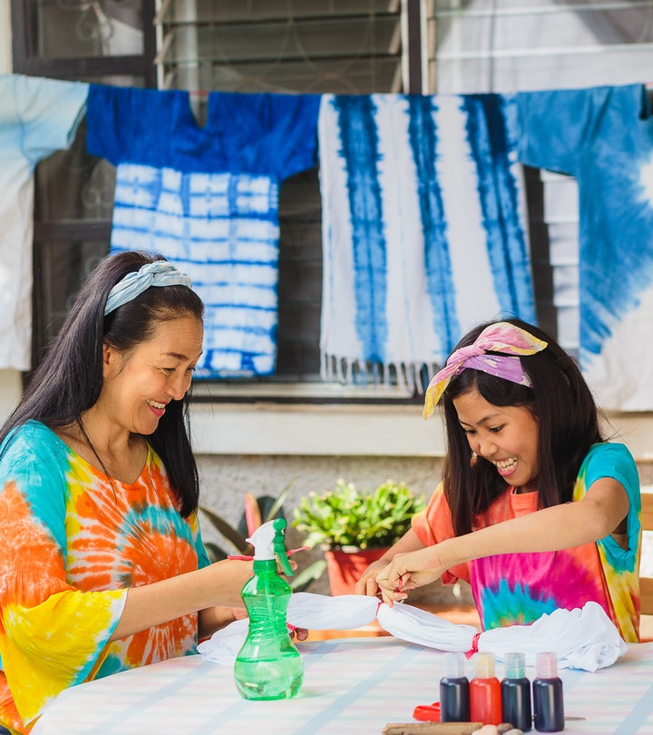 These tie-dye crafts are perfect for summer.