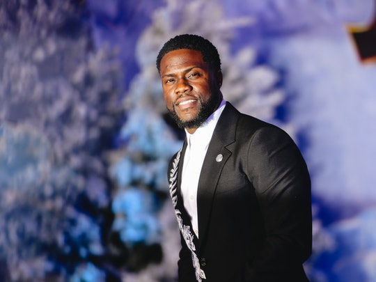 """HOLLYWOOD, CALIFORNIA - DECEMBER 09: (EDITORS NOTE: Image has been edited using digital filters) Kevin Hart attends the premiere of Sony Pictures' """"Jumanji: The Next Level"""" on December 09, 2019 in Hollywood, California. (Photo by Matt Winkelmeyer/FilmMagic,)"""