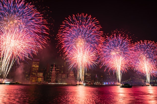One 4th of July fact to share with your kids is that fireworks started in 1777.