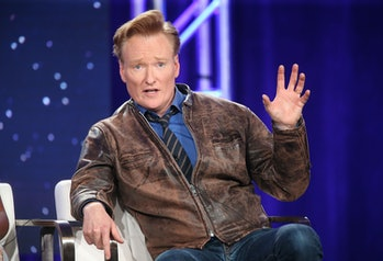 PASADENA, CA - JANUARY 11: Executive producer Conan O'Brien of the TBS television show Final Space s...