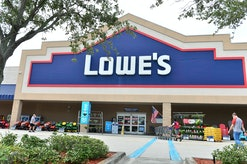 PEMBROKE PINES, FLORIDA - JULY 18: Customers wearing face masks enter a Lowe's Home Improvement store on July 18, 2020 in Pembroke Pines, Florida. Lowe's is among the latest retailers requiring masks to be worn in their stores to control the spread of the coronavirus (COVID-19). (Photo by Johnny Louis/Getty Images)