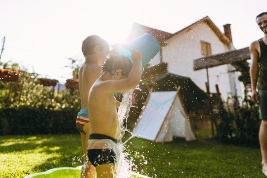 Kids drinking gross outdoor water is a given at some point, but experts say not to panic.