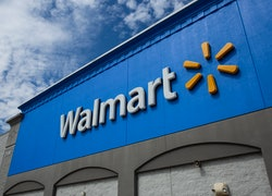 NORTH BERGEN, NJ - AUGUST 23: Exterior view of a Walmart store on August 23, 2020 in North Bergen, N...