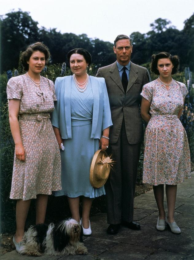 Princesses Margaret and Elizabeth loved to match.
