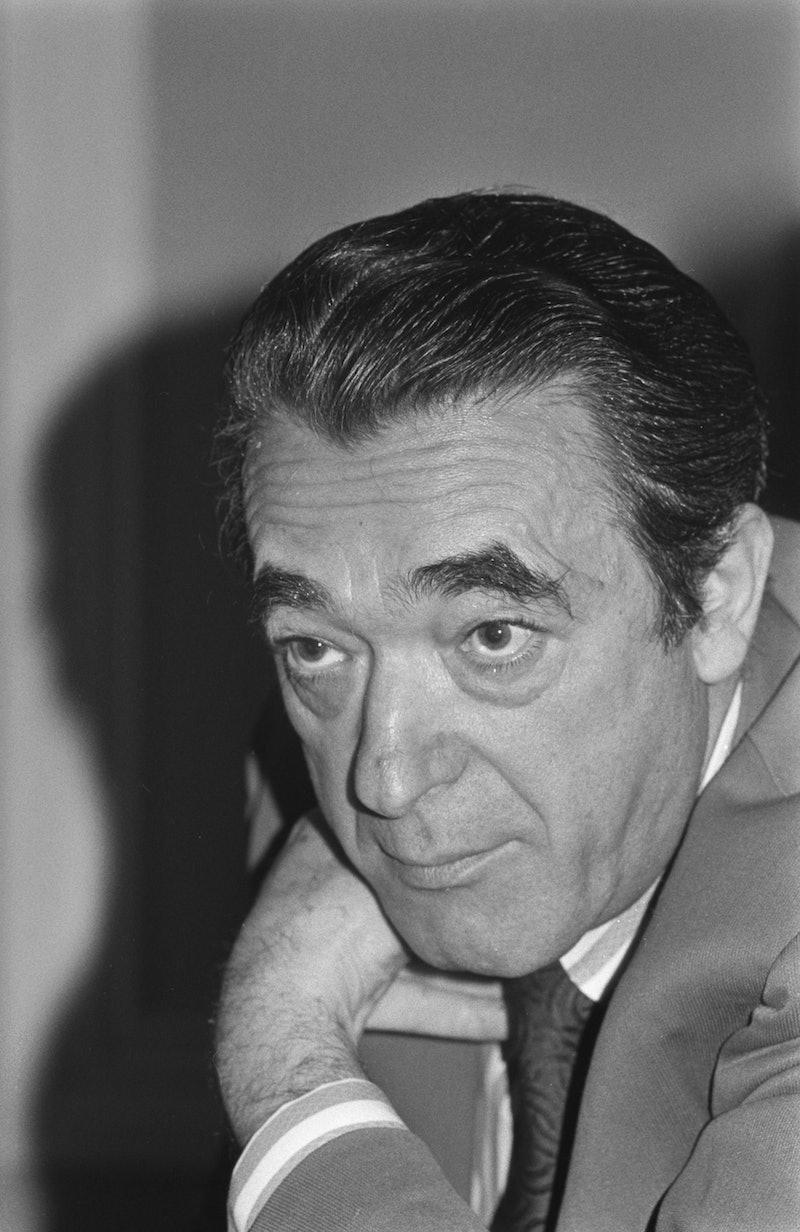 British media proprietor Robert Maxwell (1923 - 1991), UK, 21st November 1973.  (Photo by Evening St...