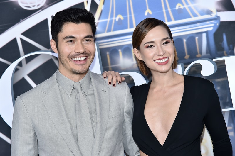 Henry Golding and wife Liv Lo in 2019 in New York City.