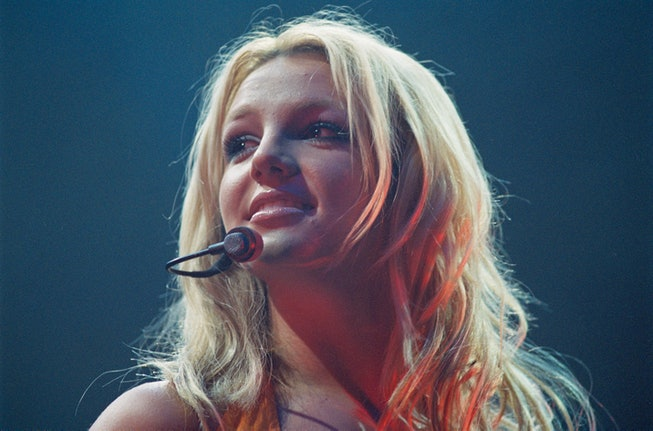 The singer performing on stage at Paris Zenith. (Photo by Jeremy Bembaron/Sygma/Sygma via Getty Imag...