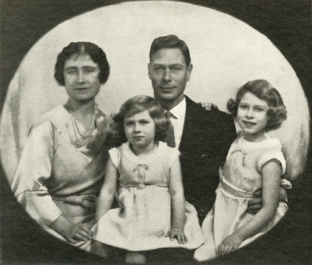 The York family looked pretty happy together.