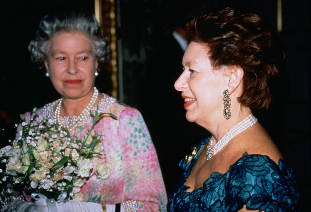 Princess Margaret attended a charity concert with her sister.