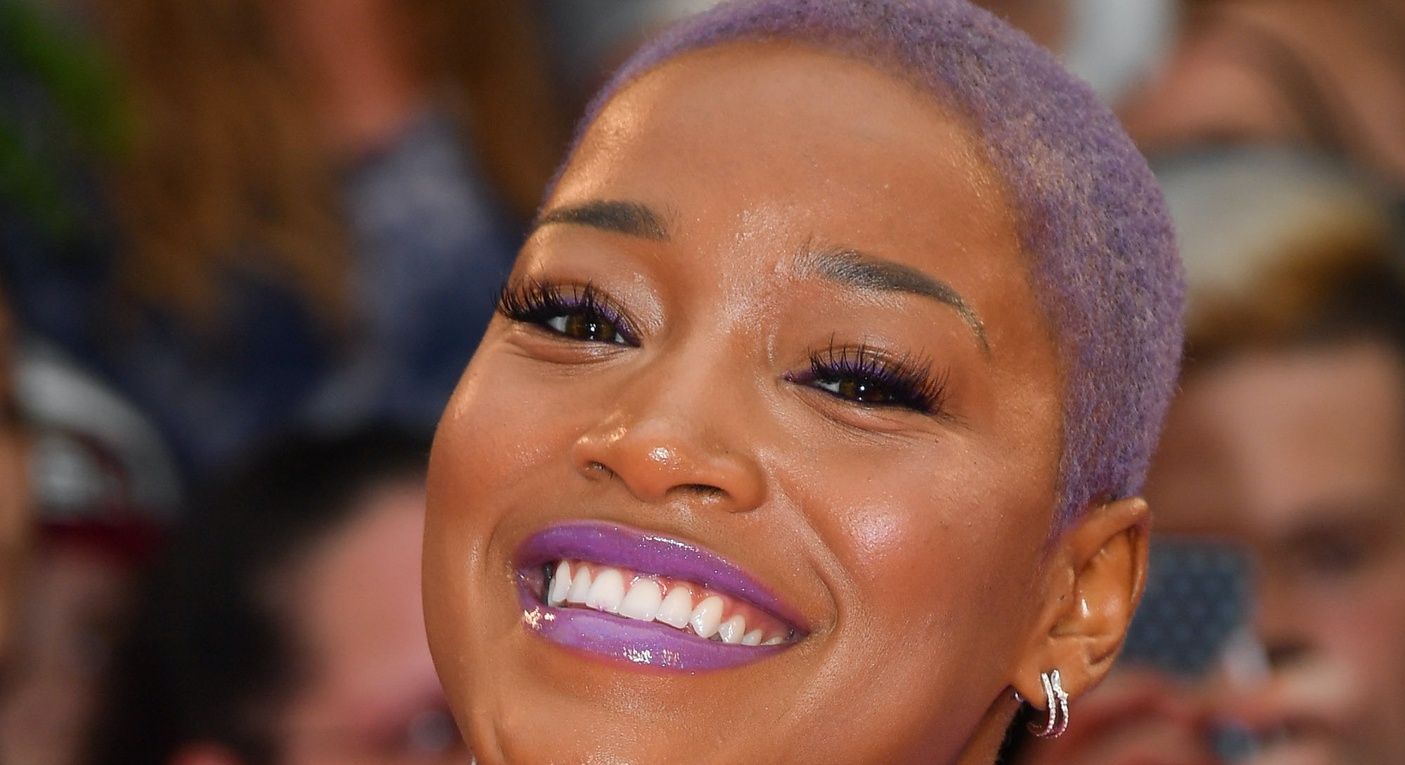 TORONTO, ON - JUNE 18:  Keke Palmer arrives at the 2017 iHeartRADIO MuchMusic Video Awards at MuchMu...