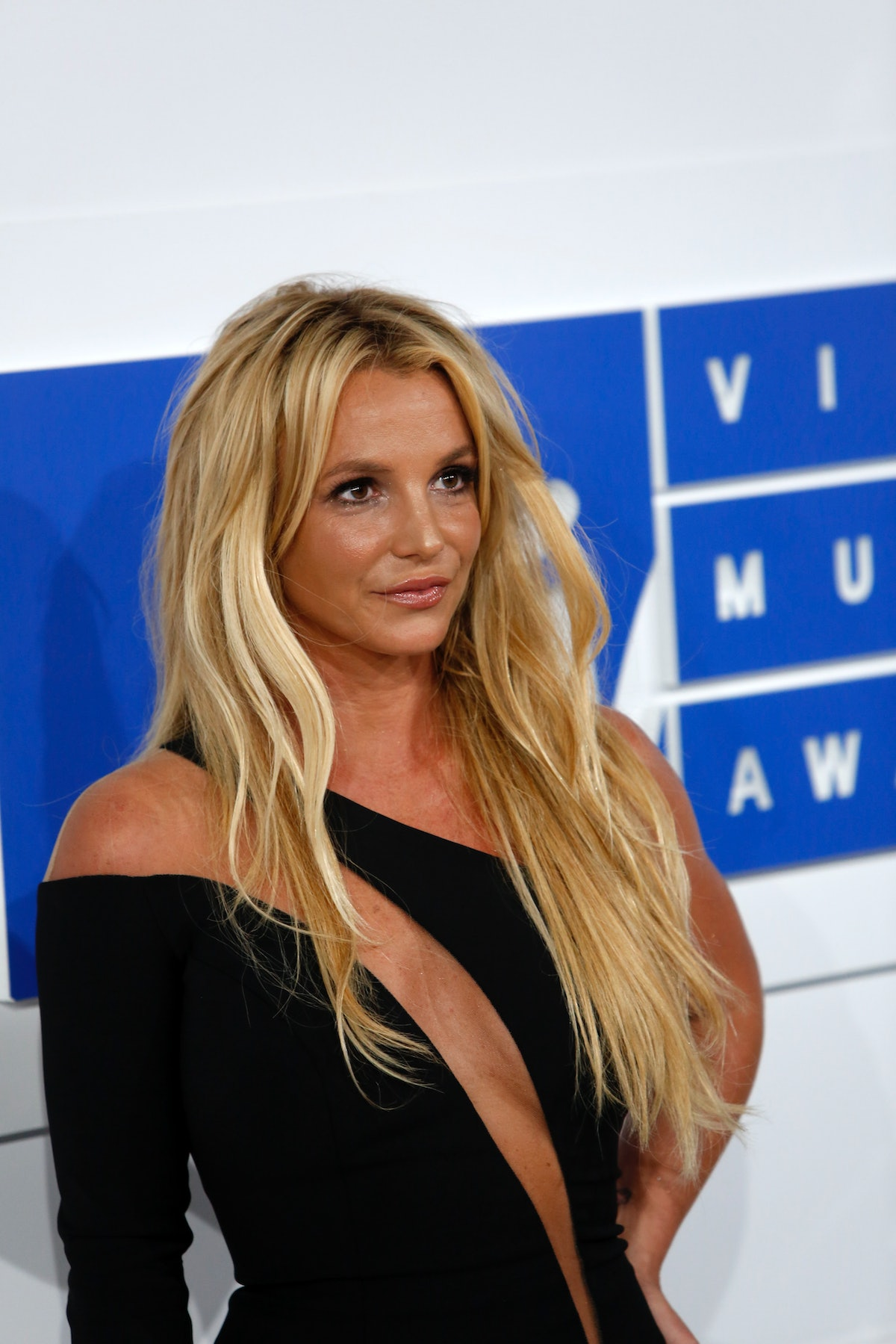 Britney Spears at the 2016 MTV Video Music Awards.