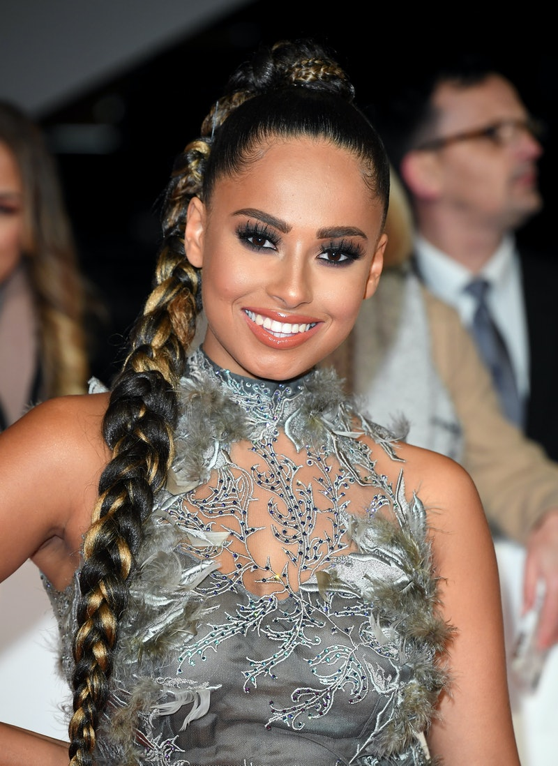 LONDON, ENGLAND - JANUARY 28: Amber Gill attends the National Television Awards 2020 at The O2 Arena...