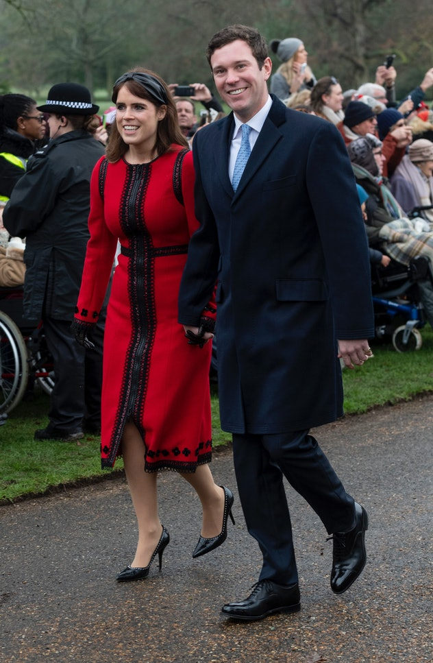 Princess Eugenie and her husband Jack Brooksbank.