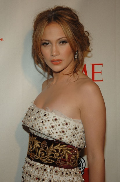 NEW YORK, NY - MAY 8, 2006: Singer/actress Jennifer Lopez attends the celebration for Time Magazine's 100 Most Influential People issue, held at Jazz at Lincoln Center in New York, NY, on Monday May 8, 2006. Photo by SLAVEN VLASIC. (Photo by VLASIC SLAVEN/Gamma-Rapho via Getty Images)
