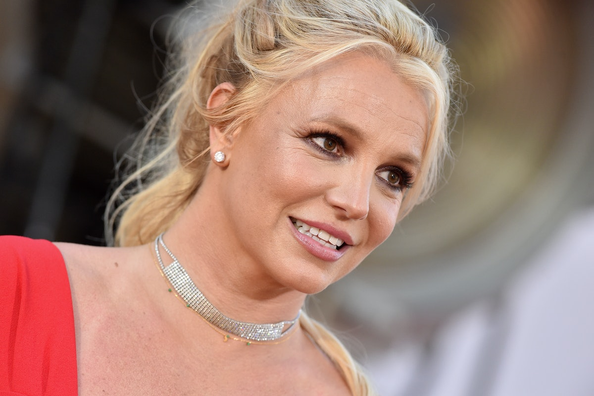"""HOLLYWOOD, CALIFORNIA - JULY 22: Britney Spears attends Sony Pictures' """"Once Upon a Time ... in Hollywood"""" Los Angeles Premiere on July 22, 2019 in Hollywood, California. (Photo by Axelle/Bauer-Griffin/FilmMagic)"""