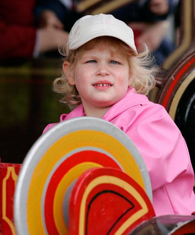 Lady Louise is the queen's youngest granddaughter.