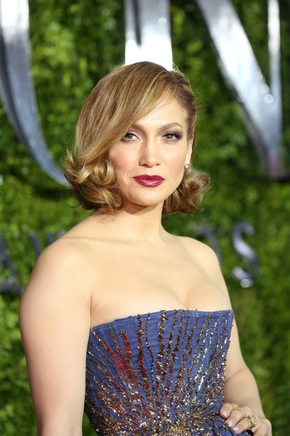 NEW YORK, NY - JUNE 07:  Jennifer Lopez attends the 2015 Tony Awards at Radio City Music Hall on June 7, 2015 in New York City.  (Photo by Walter McBride/WireImage)