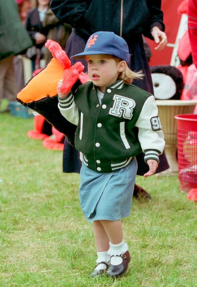 Princess Eugenie is the sixth grandchild of Queen Elizabeth.