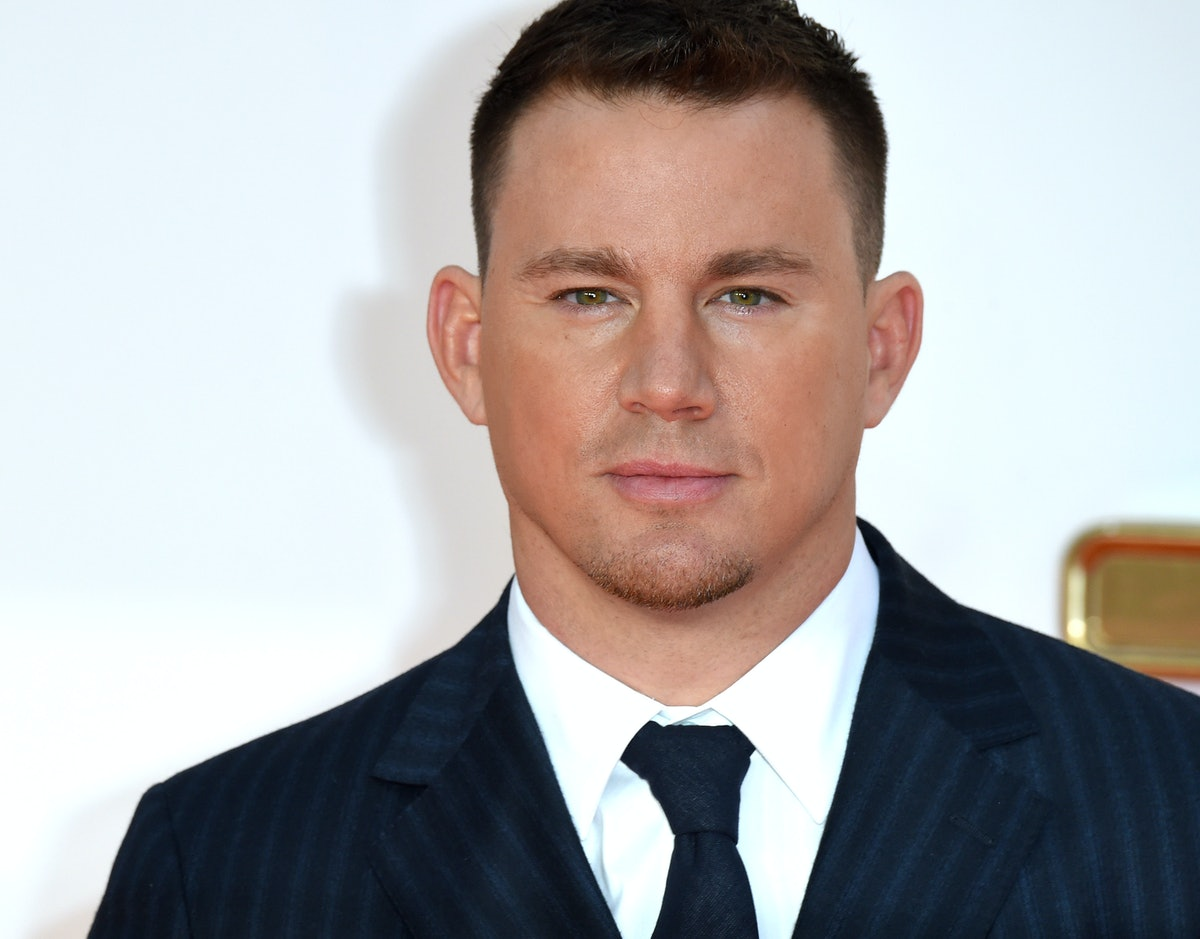 Channing Tatum shared the first photo of his daughter Everly's face and it is too precious. England....