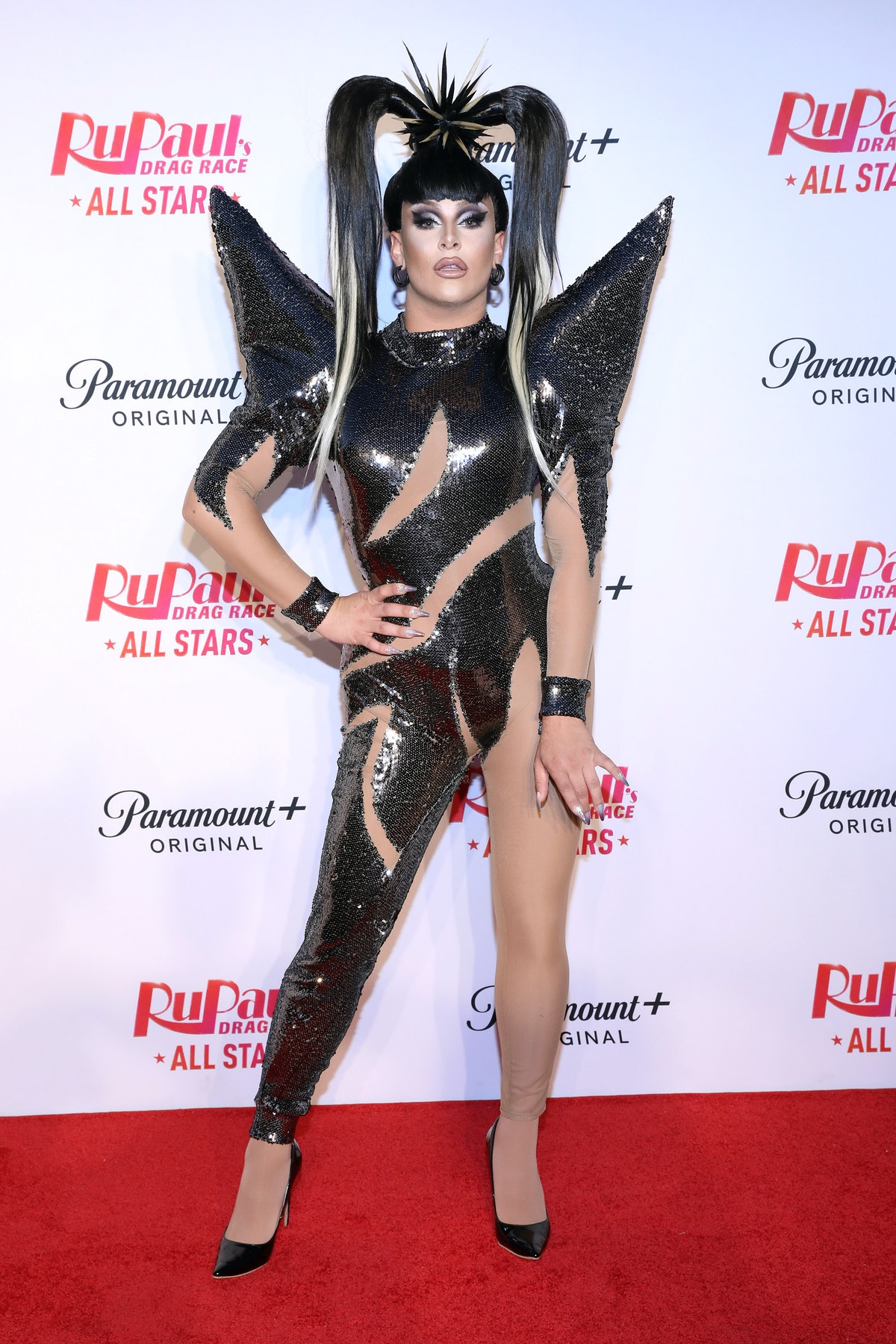 NEW YORK, NEW YORK - JUNE 26: Jan attends Paramount+ & RuPaul's Drag Race All Stars Cast Celebrate The S6 Premiere At Drive n' Drag at Randall's Island Park on June 26, 2021 in New York City. (Photo by Monica Schipper/Getty Images for Paramount+)