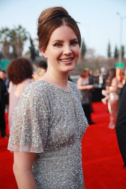 Singer and celebrity Cancer Lana Del Rey attends GRAMMY Awards.