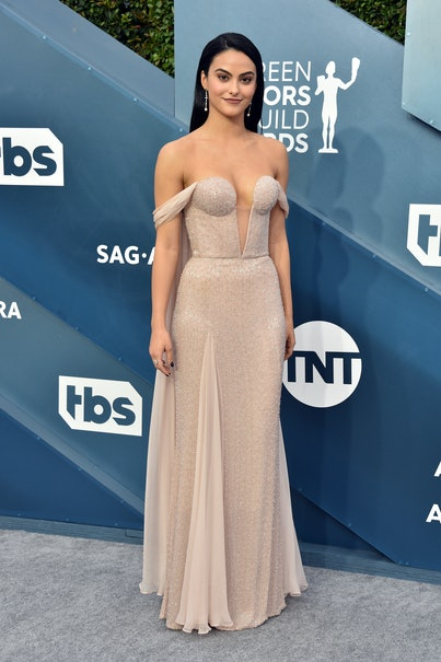 LOS ANGELES, CALIFORNIA - JANUARY 19: Camila Mendes attends the 26th Annual Screen ActorsGuild Awar...
