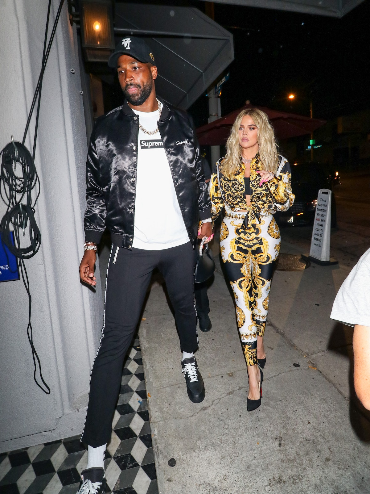 LOS ANGELES, CA - AUGUST 17: Khloe Kardashian and Tristan Thompson are seen on August 17, 2018 in Lo...