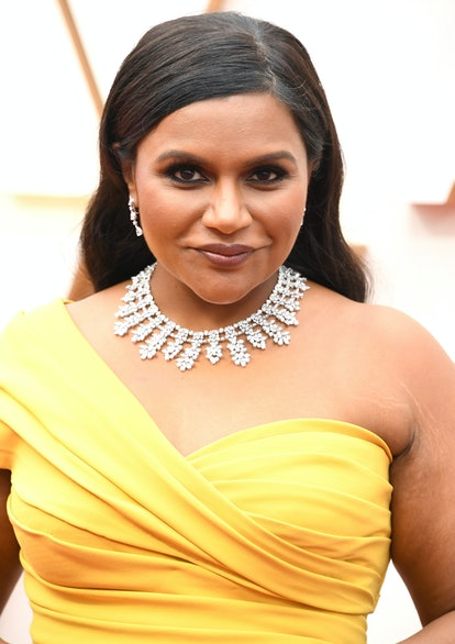 Celebrity Cancer Mindy Kaling shows off her charasmatic energy on the red carpet.