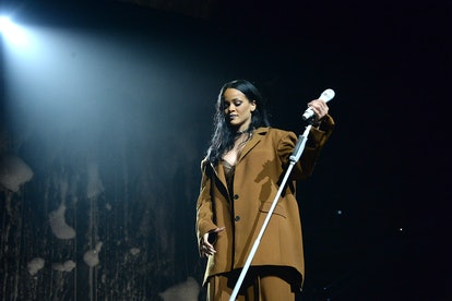 The best songs about love include a Rihanna 'Anti' tune. (Photo by Kevin Mazur/Getty Images for Fent...