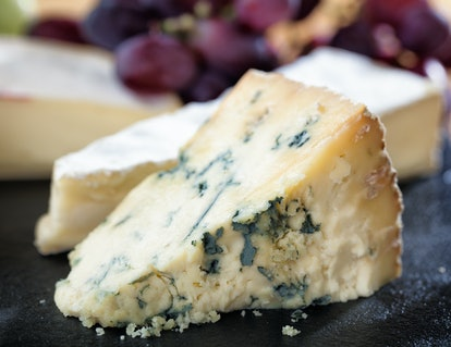 Blue cheese reigns as one of the best cheeses to include in your nacho recipe.