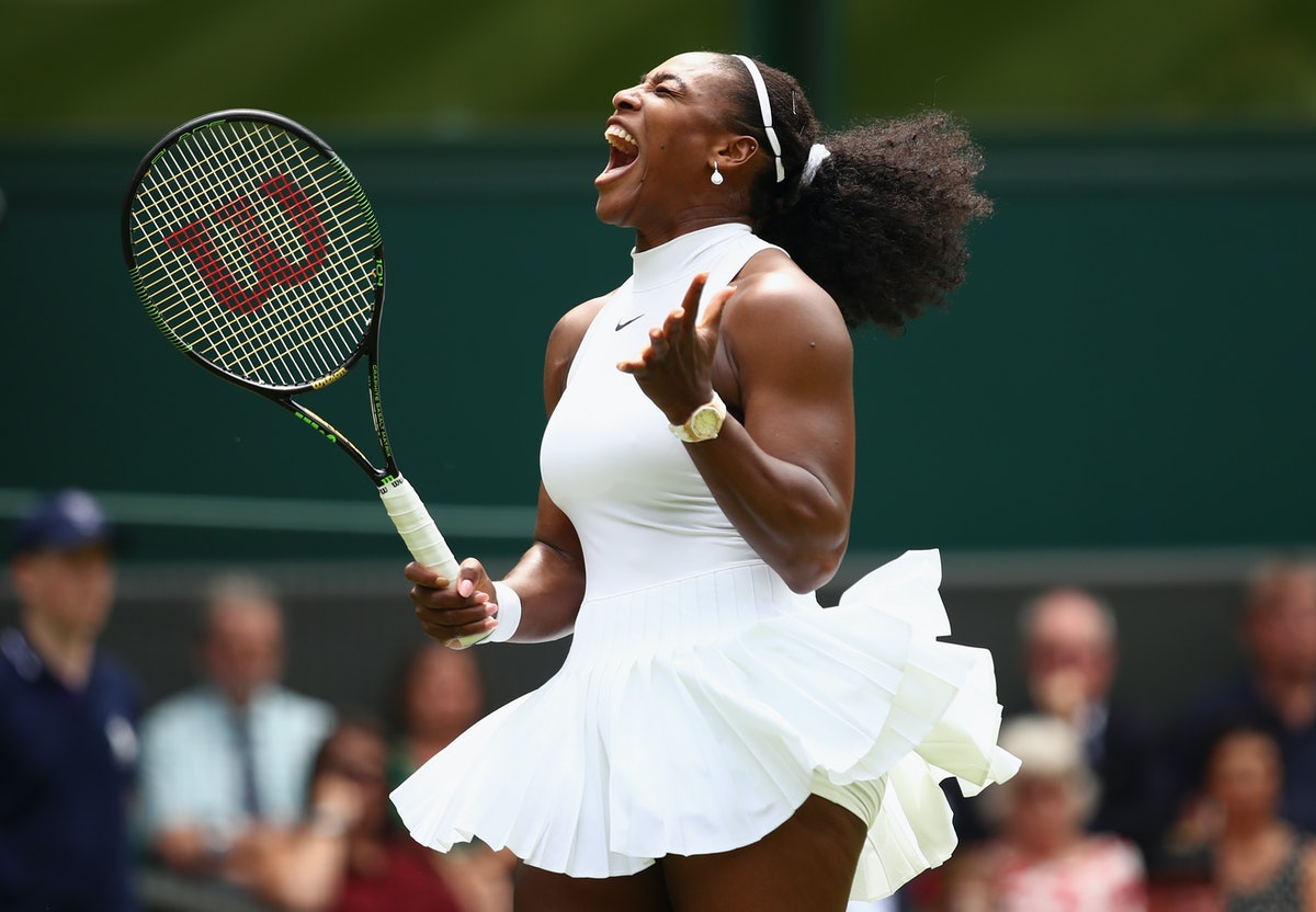 Serena Williams, shown here competing in London, always knows how to inspire her fans with great quo...