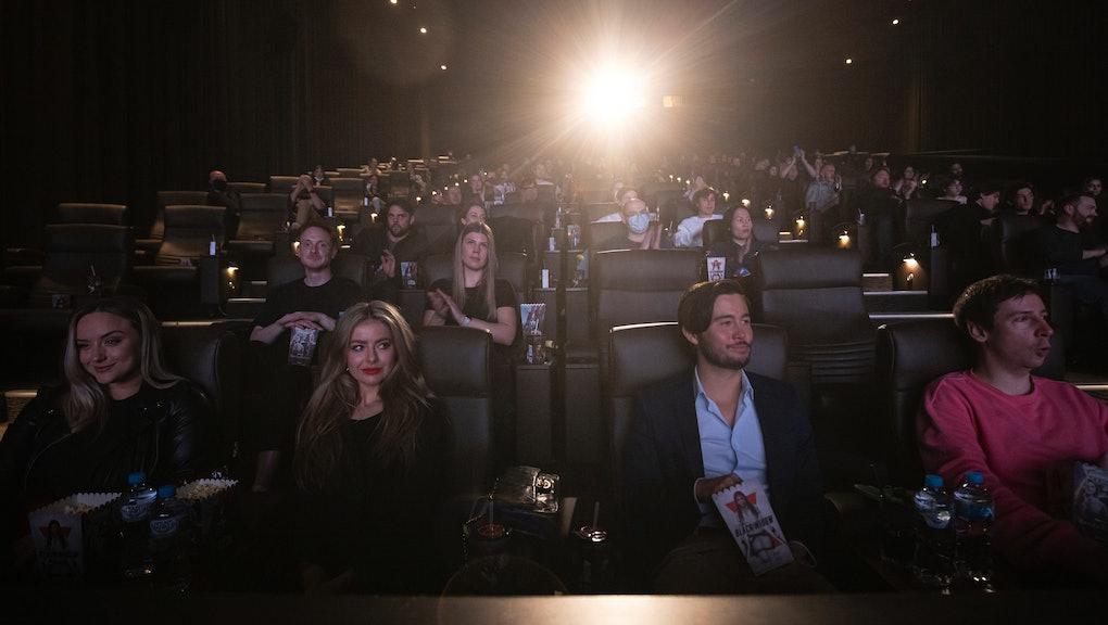 MELBOURNE, AUSTRALIA - JUNE 29: Fans attend Marvel Studios' Black Widow World Premiere Fan Event at ...