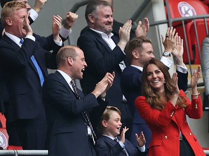 Prince George joined his parents at Euro Cup 2020.
