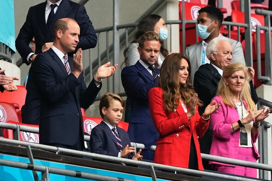 Prince George joined his parents for a day out.