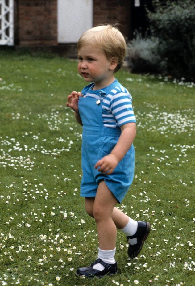 Prince William was so adorable.