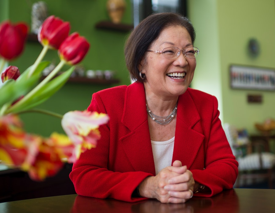 In her new memoir, Sen. Mazie Hirono outlines her path to Capitol Hill and work to stop racism.